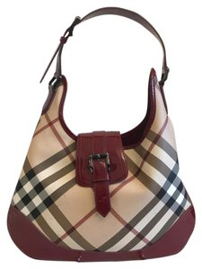 Burberry Red Classic Shoulder Bag