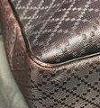 Gucci Hilary Lux Diamante Leather Dark Brown Messenger Bag Image 11