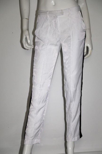 Sparkle & Fade Casual Relaxed Pants White Image 2
