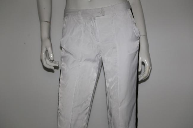 Sparkle & Fade Casual Relaxed Pants White Image 3