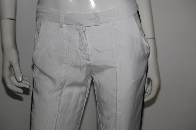 Sparkle & Fade Casual Relaxed Pants White Image 4