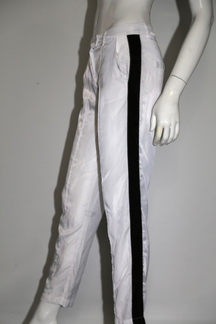 Sparkle & Fade Casual Relaxed Pants White Image 5