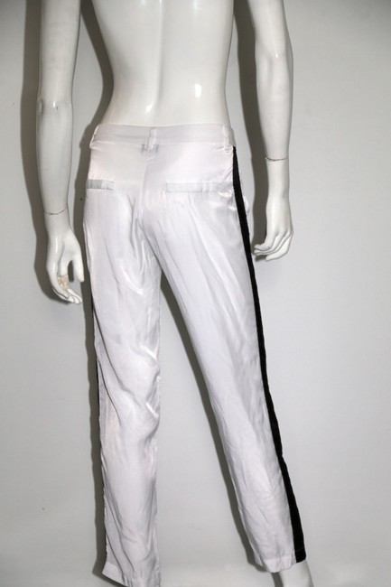 Sparkle & Fade Casual Relaxed Pants White Image 7