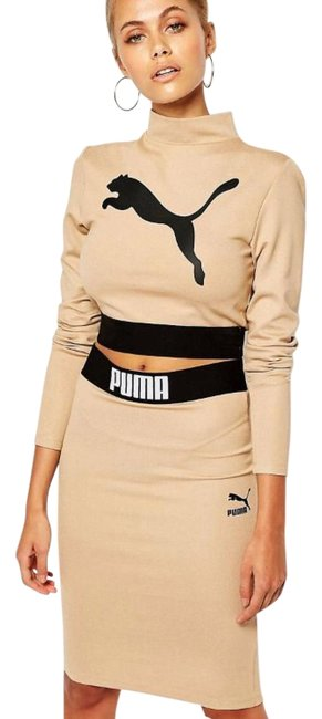 Item - Nude Bodycon Dress Combo Skirt Suit Size 6 (S)