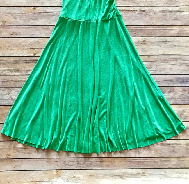 Boutique Green Casual Date Dress Image 1
