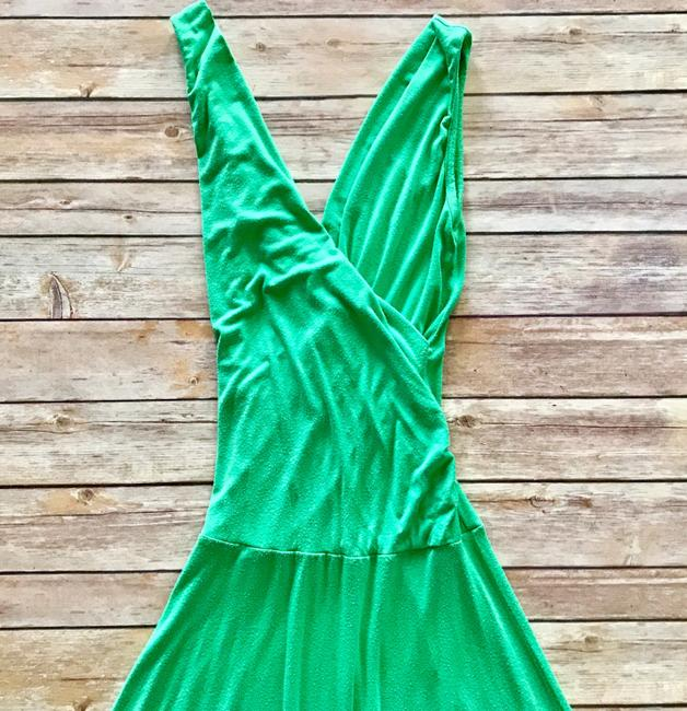Boutique Green Casual Date Dress Image 2