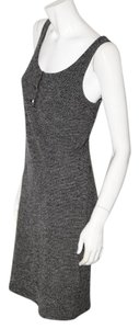 St. John short dress Gray Sheath Knee Lenght on Tradesy
