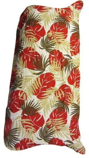 5add3013ed706 on sale Hawaiian Style Short Skirt Wrap Tan Leaves Palms Tropical Pattern   2225844 - Cover