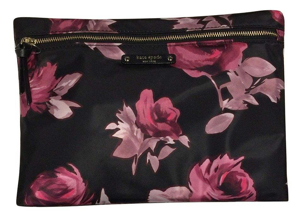 d540f86b84 Kate Spade Rose New York Wilson Symphony Large Drewe Pouch Cosmetic ...