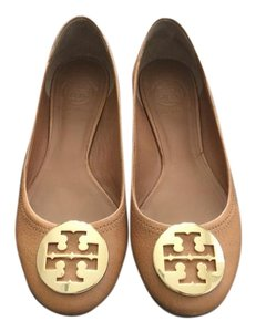 Tory Burch Brown Ballet Tan Flats