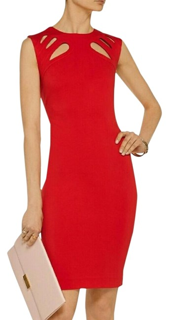 Item - Red Mid-length Casual Maxi Dress Size 10 (M)
