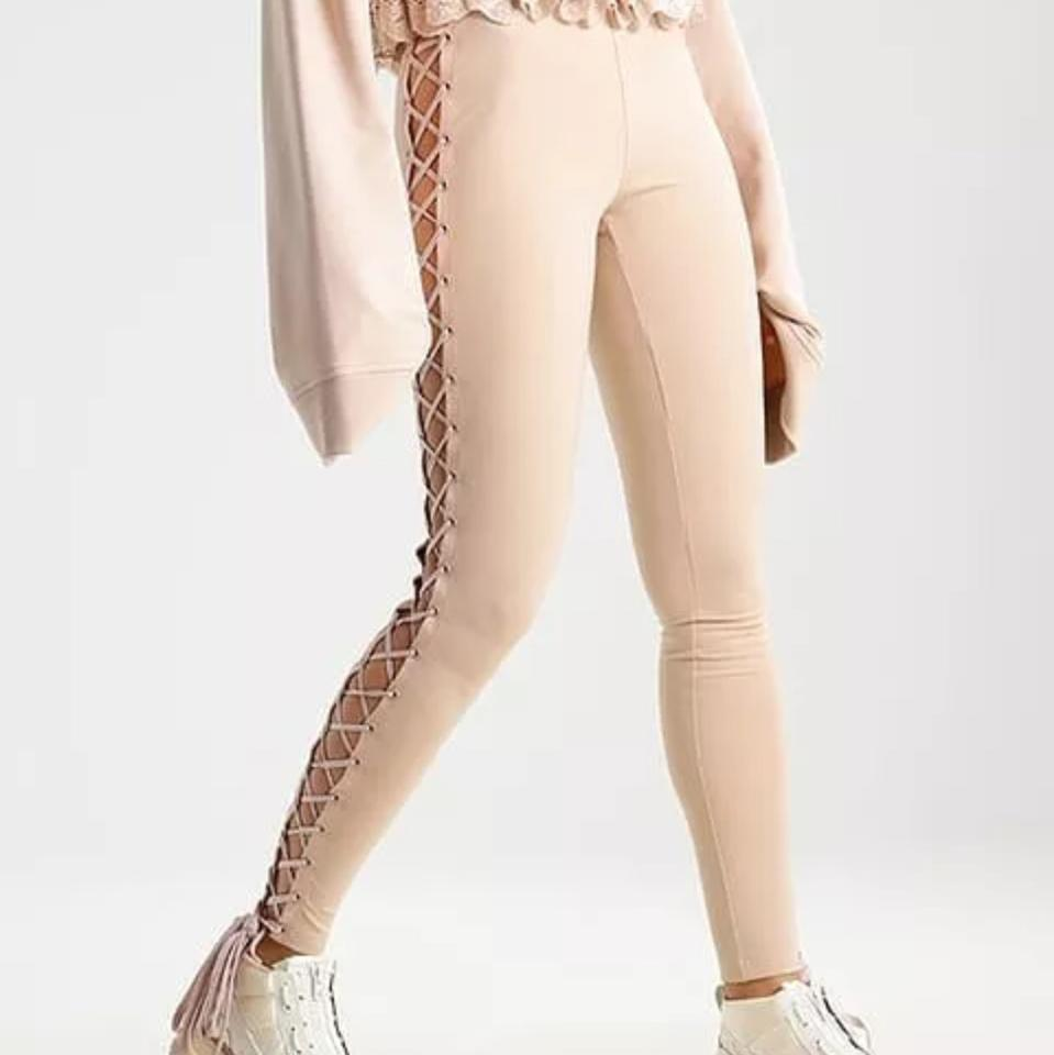 2e310a0c17b6 FENTY PUMA by Rihanna Moonlight Lace Up Boxing   Bomber Tights ...