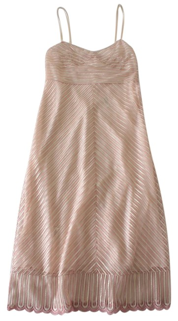 Preload https://img-static.tradesy.com/item/22259357/tommy-x-gigi-hadid-pink-gold-fall-2016-collection-striped-overlay-short-casual-dress-size-2-xs-0-1-650-650.jpg