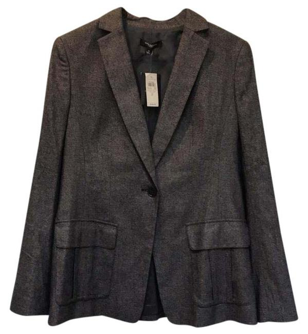 Item - Brown Black Wool Blazer Size 8 (M)