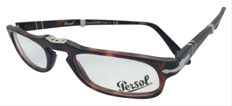 b7a0bfebe8896 Persol New Folding PERSOL Rx-able Eyeglasses 2886-V 24 51-22 Tortoise ...