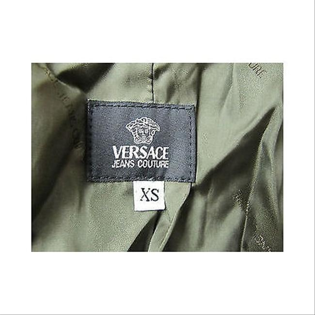 Versace Jeans Couture Long Suede Jacket Coat