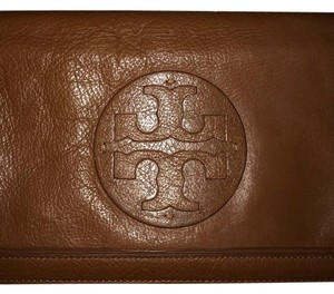 Tory Burch Brown/ Tan Clutch