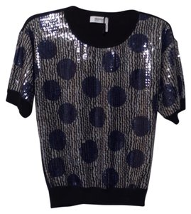 Sonia Rykiel Like New Sequin Light Short Sweater