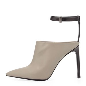 Vince black and gray Mules