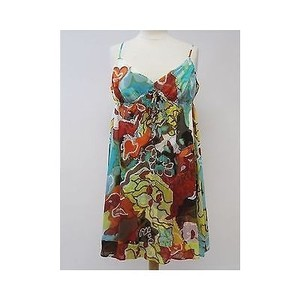 Diane von Furstenberg short dress Multi-Color Womens on Tradesy