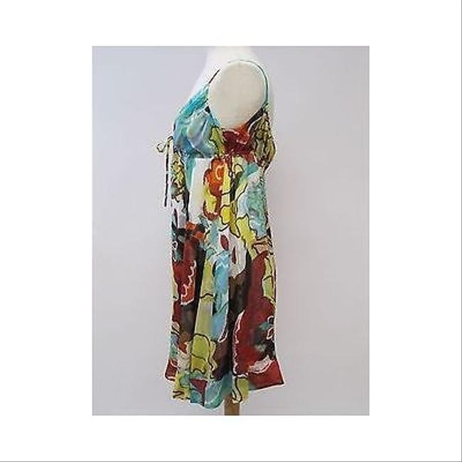 Diane von Furstenberg short dress Multi-Color Womens Dvf Silk Multi Print Spaghetti Strap on Tradesy
