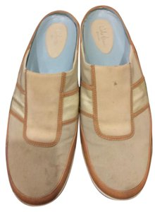 Cole Haan Beige white Mules