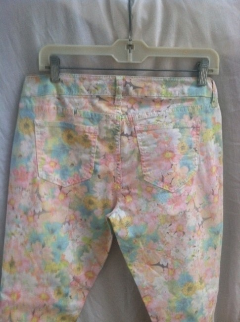 Arizona Jeans Company Straight Pants Floral (multi-color)