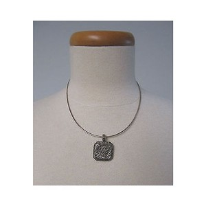 Suspicion Sterling Silver Marcasite R Initial Enhancer Wchain Necklace
