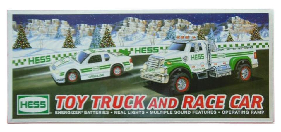 hess toy truck and race car on tradesy. Black Bedroom Furniture Sets. Home Design Ideas