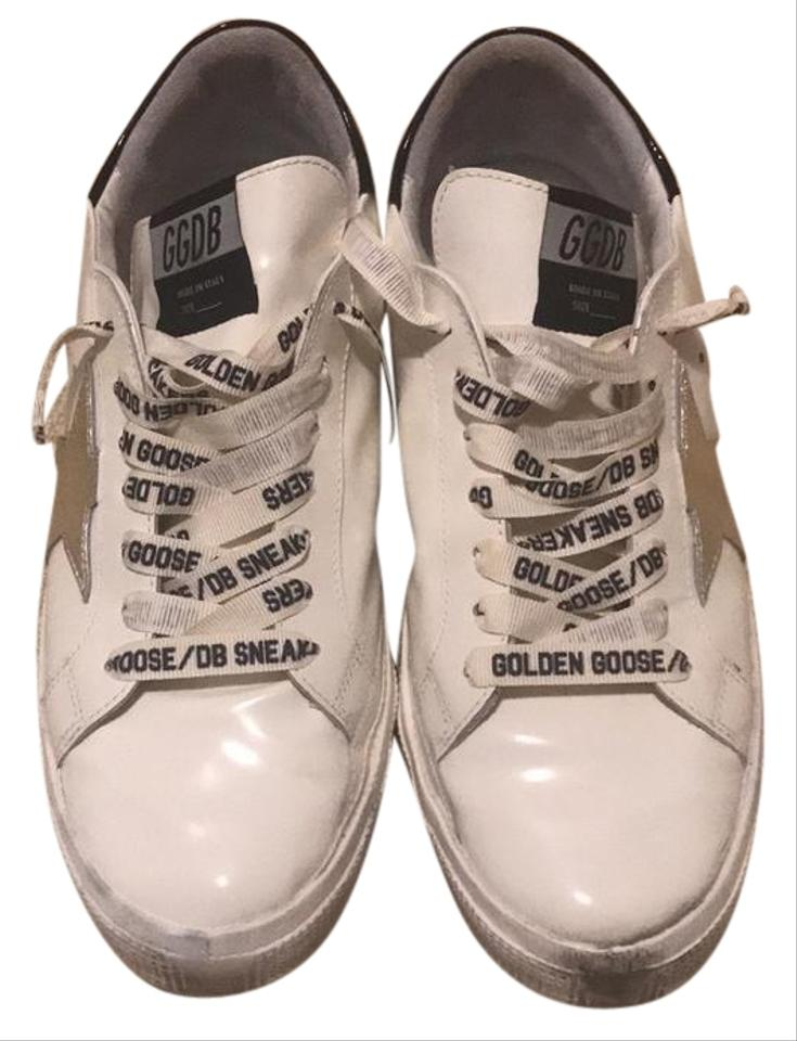817215cb9019 May Sneakers. Size  EU 40 (Approx. US 10).  430.00 Shipping Included.  Retail Price   600.00. View Original Listing. Golden Goose Deluxe Brand  Athletic ...