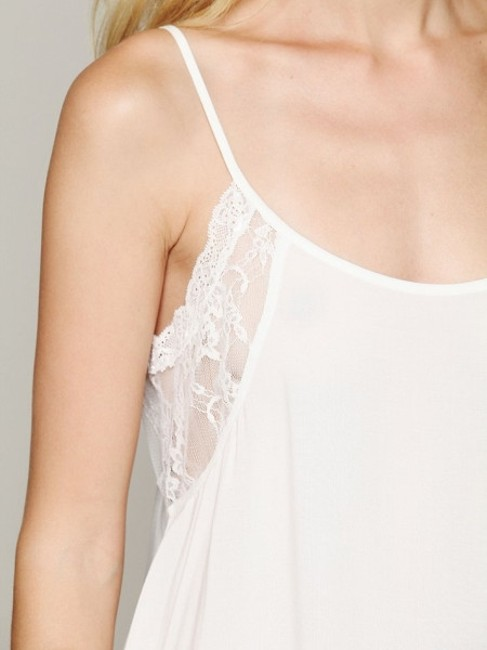 Free People Sexy Strappy Top White