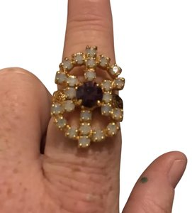 Sarah Coventry cluster ring
