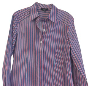 Foxcroft Button Down Shirt stripe