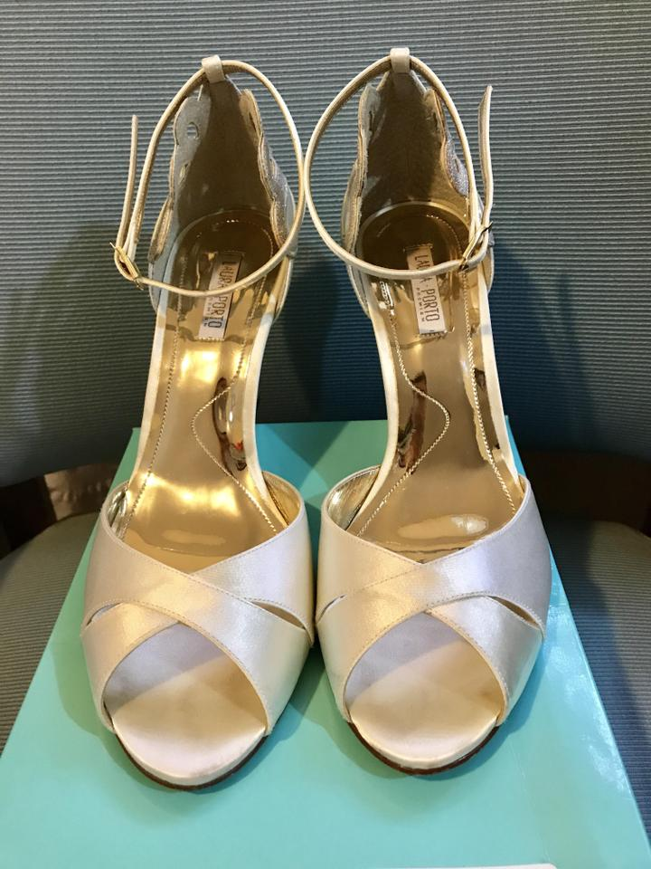 3ff63524ae68 BHLDN Ivory De Mer Formal Wedges Size US 9.5 Regular (M