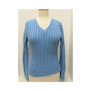 Other Womens Viiv America V Neck Long Sleeve Sweater