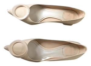 Dior Patent Leather Nude Pumps