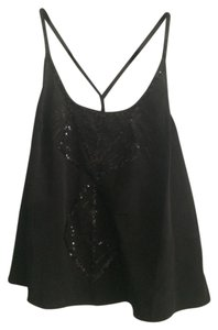 Kimchi Blue Sequins Sparkly Night Out Y Top Black