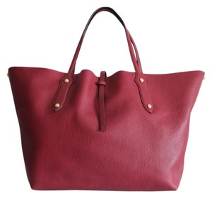 Annabel Ingall Large Isabella Tote in Bordo Red