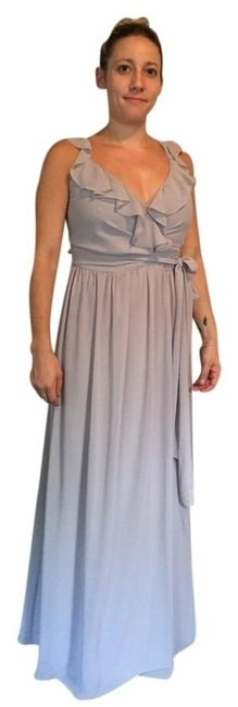 Item - Silver Bells Grey Ceremony Collection Long Formal Dress Size 8 (M)