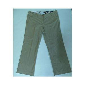 Other Womens Y Morrissey Khaki Short Cut Pants