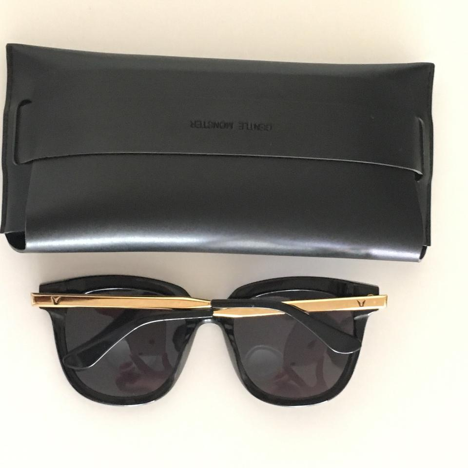 3f1bbe03f8 Gentle Monster Black Absente Sunglasses Image 9. 12345678910