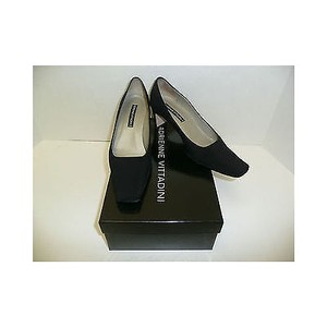 Adrienne Vittadini Womens Blacks Pumps