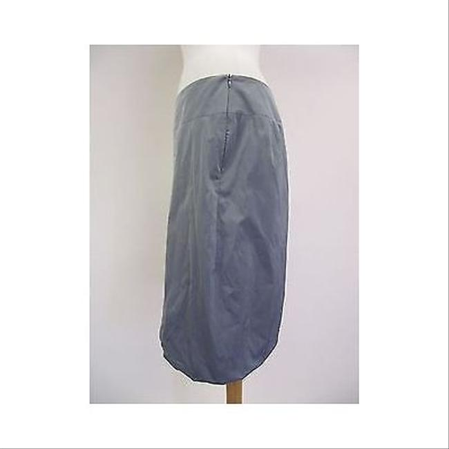 Other Pauw Amsterdam Pewter Silver Parachute Bubble Hem Skirt Gray