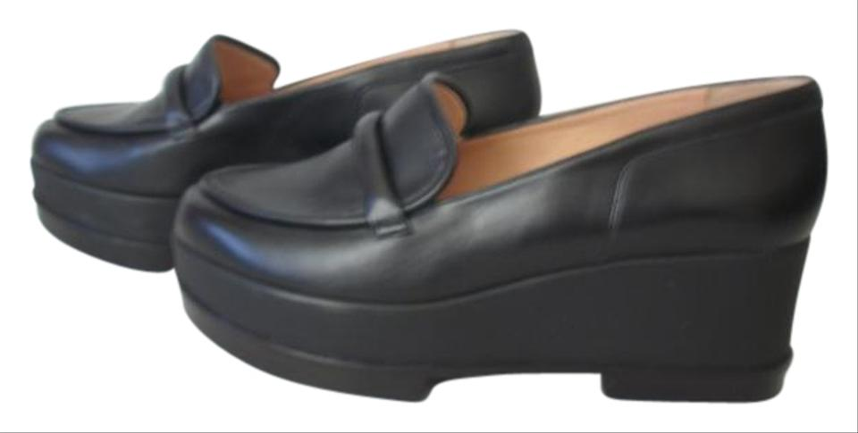 efcd2a43b62 Robert Clergerie Black Yokolej Platforms Closed Toes High Loafers ...