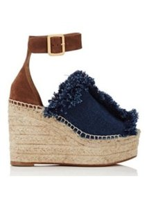 Chlo DARK BLUE Wedges