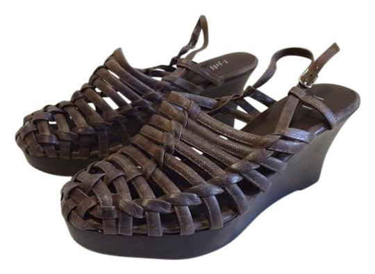 Preload https://img-static.tradesy.com/item/22265014/j-jill-brown-chocolate-strappy-wedges-woven-clogs-leather-sandals-size-us-9-regular-m-b-0-1-540-540.jpg