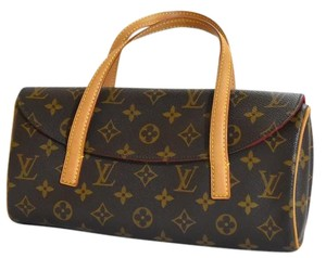 Louis Vuitton Shoulder Bags Lv Monogram Satchel Bags Mini Bags Wristlet in Brown