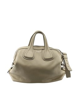 Givenchy Leather Satchel in Beige