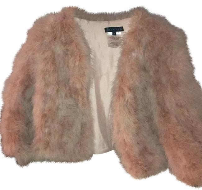 Item - Rose Light Pink Feather Coat Size 4 (S)