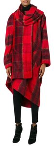 Vivienne Westwood Plaid Blanket Cape Winter Coat
